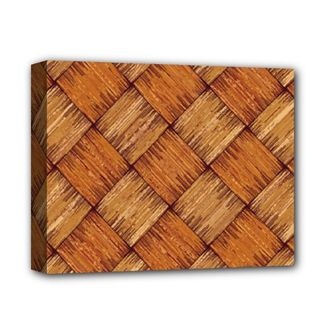 Vector Square Texture Pattern Deluxe Canvas 14  X 11