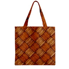 Vector Square Texture Pattern Grocery Tote Bag
