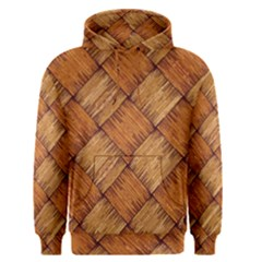 Vector Square Texture Pattern Men s Pullover Hoodie