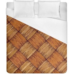 Vector Square Texture Pattern Duvet Cover (california King Size)