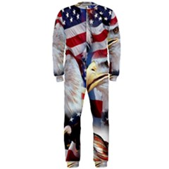 United States Of America Images Independence Day Onepiece Jumpsuit (men)