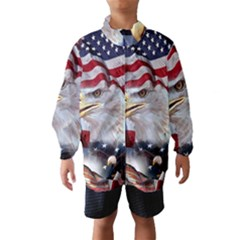 United States Of America Images Independence Day Wind Breaker (kids)