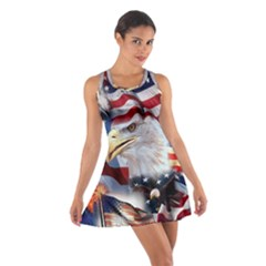 United States Of America Images Independence Day Cotton Racerback Dress
