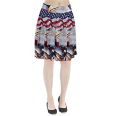 United States Of America Images Independence Day Pleated Skirt