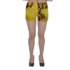 Honey Honeycomb Skinny Shorts
