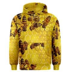 Honey Honeycomb Men s Pullover Hoodie