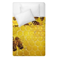 Honey Honeycomb Duvet Cover Double Side (single Size)
