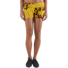 Honey Honeycomb Yoga Shorts