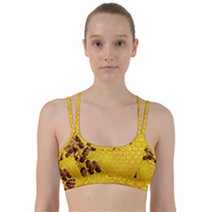 Honey Honeycomb Line Them Up Sports Bra