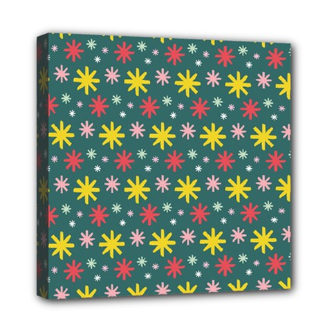 The Gift Wrap Patterns Mini Canvas 8  X 8