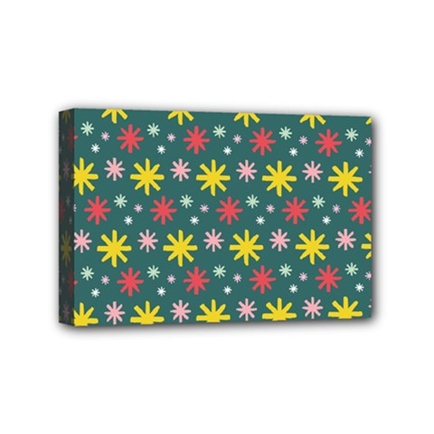 The Gift Wrap Patterns Mini Canvas 6  X 4