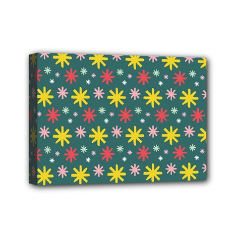 The Gift Wrap Patterns Mini Canvas 7  X 5