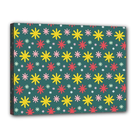 The Gift Wrap Patterns Canvas 16  X 12