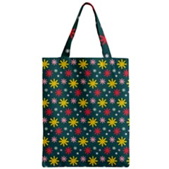The Gift Wrap Patterns Zipper Classic Tote Bag