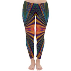 Casanova Abstract Art Colors Cool Druffix Flower Freaky Trippy Classic Winter Leggings