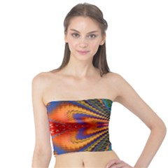 Casanova Abstract Art Colors Cool Druffix Flower Freaky Trippy Tube Top