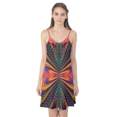 Casanova Abstract Art Colors Cool Druffix Flower Freaky Trippy Camis Nightgown