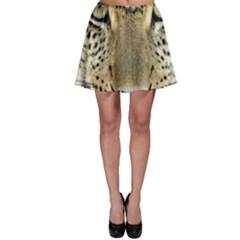 Leopard Face Skater Skirt