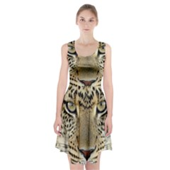 Leopard Face Racerback Midi Dress