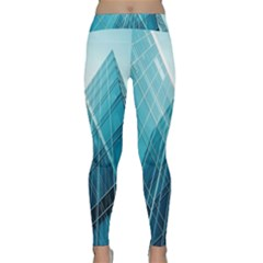 Glass Bulding Classic Yoga Leggings