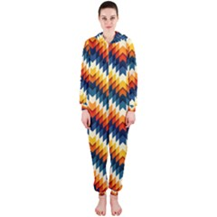 The Amazing Pattern Library Hooded Jumpsuit (ladies)