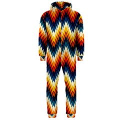 The Amazing Pattern Library Hooded Jumpsuit (men)