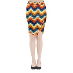 The Amazing Pattern Library Midi Wrap Pencil Skirt