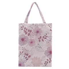Leaves Pattern Classic Tote Bag