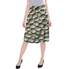 Ocean Pattern Midi Beach Skirt