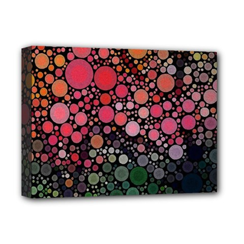 Circle Abstract Deluxe Canvas 16  X 12