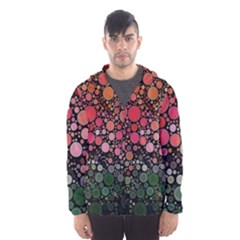 Circle Abstract Hooded Wind Breaker (men)