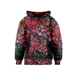 Circle Abstract Kids  Pullover Hoodie