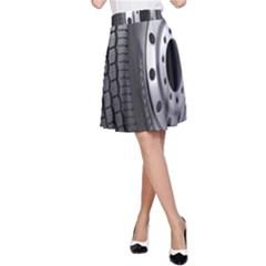 Tire A Line Skirt