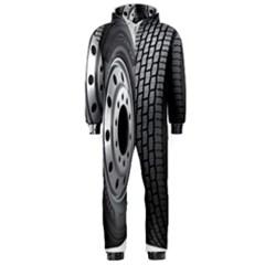 Tire Hooded Jumpsuit (men)