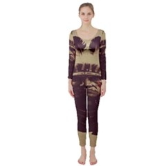 Indian Long Sleeve Catsuit
