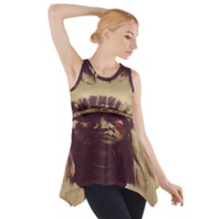 Indian Side Drop Tank Tunic