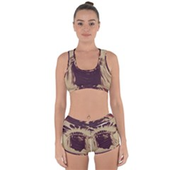 Indian Racerback Boyleg Bikini Set