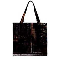 Blacktechnology Circuit Board Electronic Computer Grocery Tote Bag