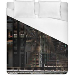 Blacktechnology Circuit Board Electronic Computer Duvet Cover (california King Size)