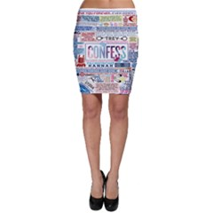 Book Collage Based On Confess Bodycon Skirt
