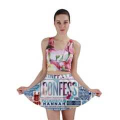 Book Collage Based On Confess Mini Skirt