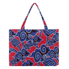 Batik Background Vector Medium Tote Bag