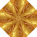 Golden Pattern Vintage Gradient Vector Folding Umbrellas View1