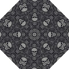 Dark Horror Skulls Pattern Folding Umbrellas