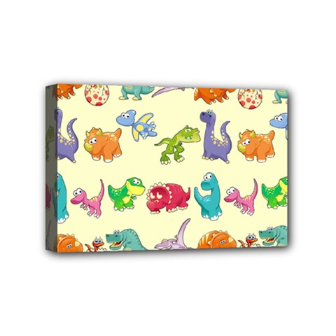 Group Of Funny Dinosaurs Graphic Mini Canvas 6  X 4