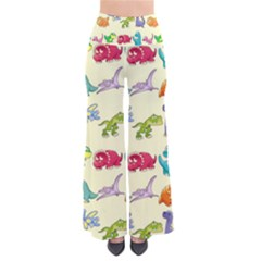 Group Of Funny Dinosaurs Graphic Pants