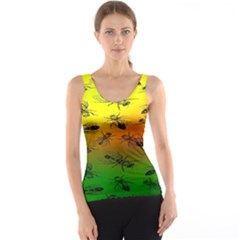 Insect Pattern Tank Top