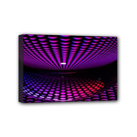 Glass Ball Texture Abstract Mini Canvas 6  X 4
