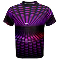 Glass Ball Texture Abstract Men s Cotton Tee