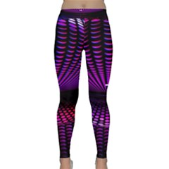 Glass Ball Texture Abstract Classic Yoga Leggings